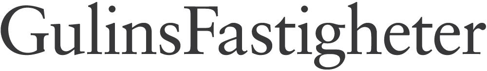Logotyp för GulinsFastigheter